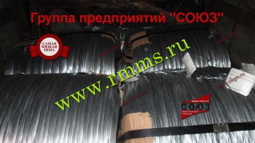 проволока стальная оцинкованная производство